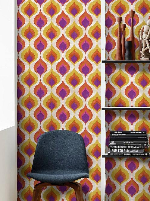 Mind the Gap - Ottoman Pattern Wallpaper