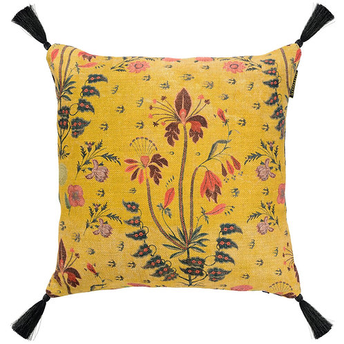 Mind the Gap Gypsy Ochre Cushion