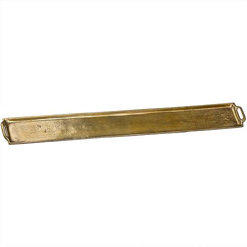 Ohlson Cast Serving Platter Finised In Antique Brass