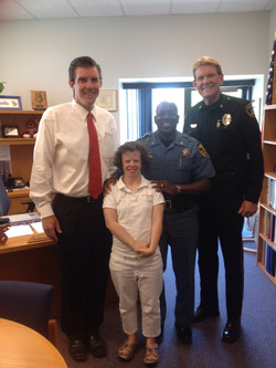 Jenny and Topeka Police Dept