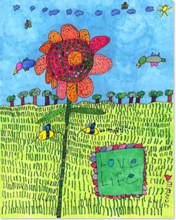 Jenny's 'Love Life' 11x14 Print
