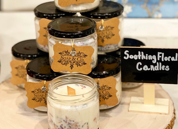 Soothing Floral Candle