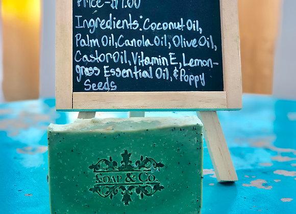 Refreshing Lemongrass Handmade Soap