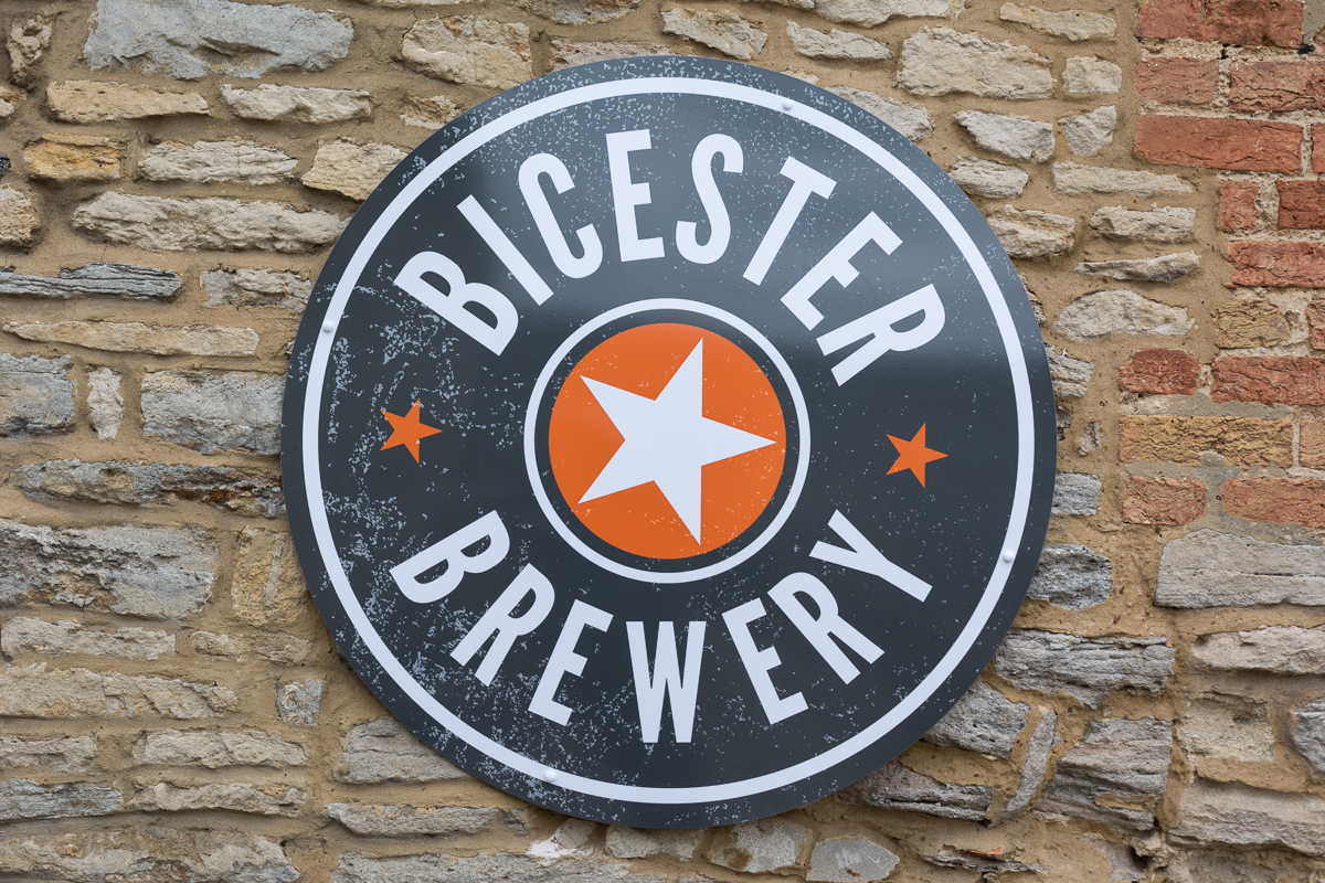 Bicester Brewery Sign