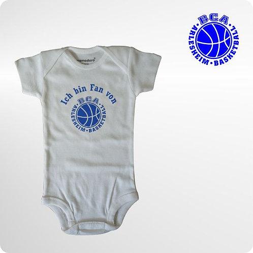 Baby Strampler mit Logodruck