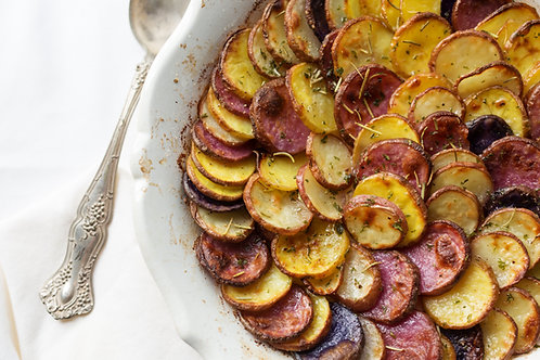 Organic Sweet Potato Gratin (gf, v)