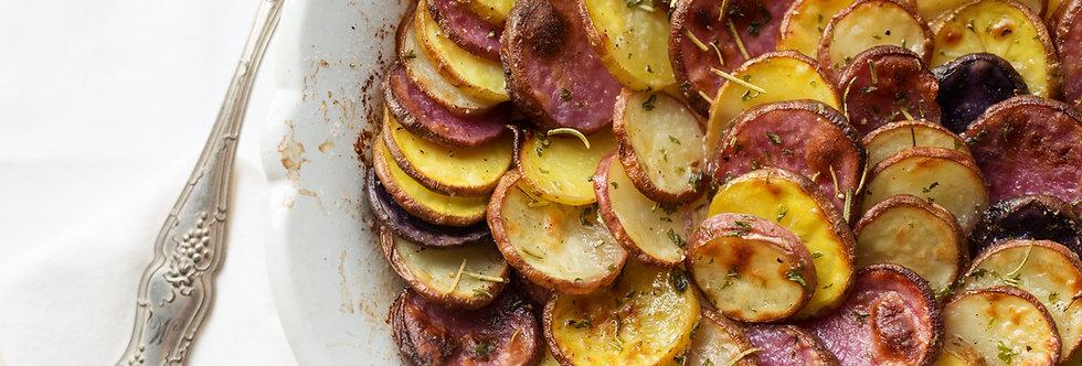 Scalloped Potatoes (Serves 4-6)