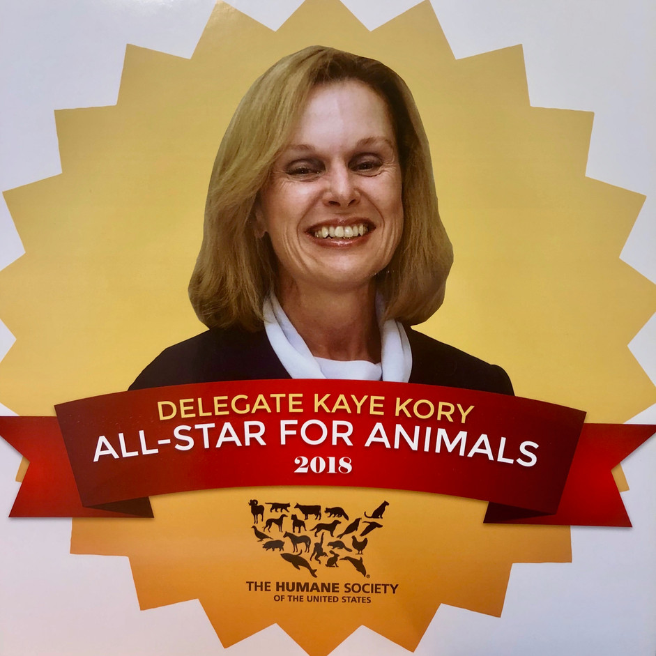 All-Star for Animals Award, 2018