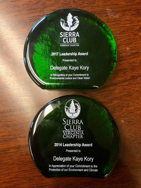 2017 and 2014 Leadership Award
