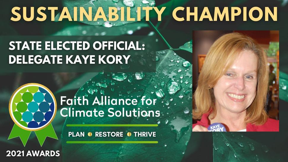2021 Sustainability Champion