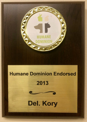 Humane Dominion Endorsed, 2013