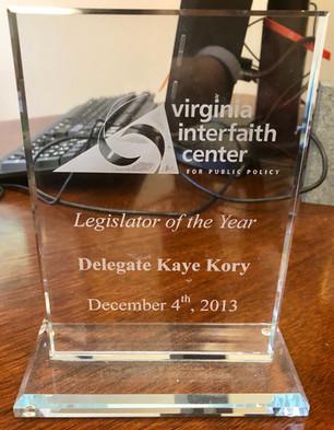 Legislator of the Year