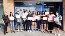 Cerca de cuarenta alumnos concluyen su formación en cuatro cursos de la Estrategia EDUSI de Andújar