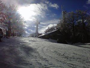 Skiing in Mount Amiata