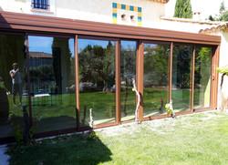 c13 veranda laquage rouille