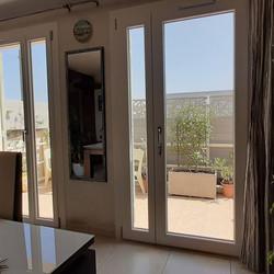 Porte fenêtre 2 vtx inégaux