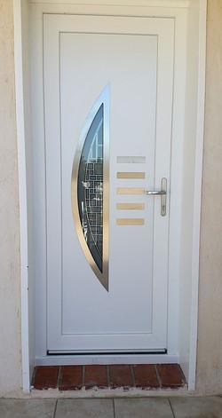 Porte PVC demi lune