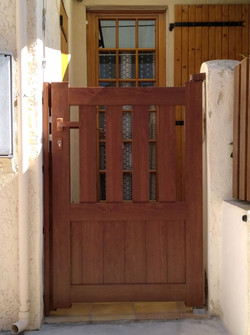 c13 portillon chêne doré