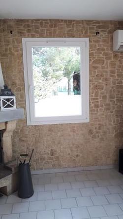 Fenêtre PVC un vantail oscillot battant