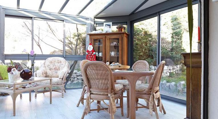 veranda lumineuse
