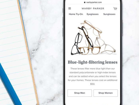 Usage Funnels with Warby Parker - 03/24/2020