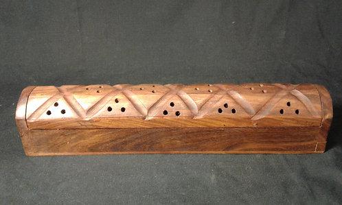 Wood Rooftop Incense Burner