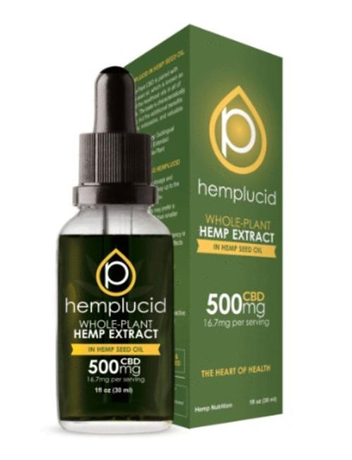 500mg Hemp Lucid CBD Oil