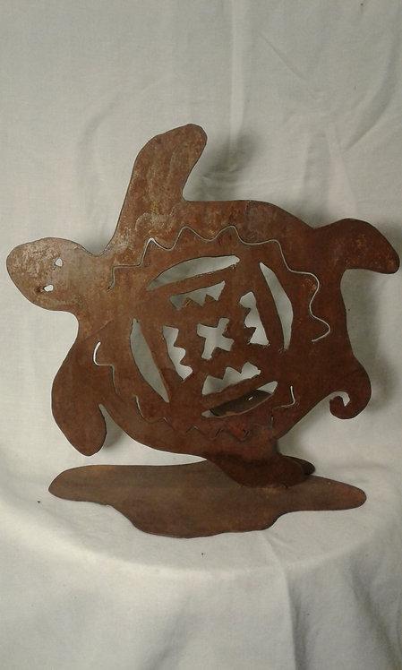Tribal Turtle Candleholder