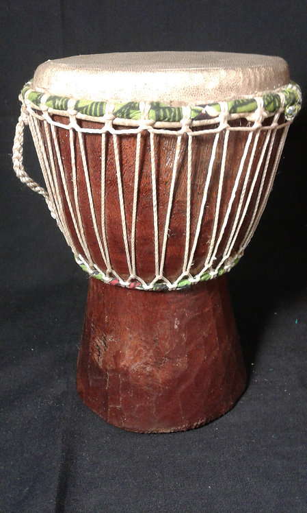 "10"" Hand Carved Drum"