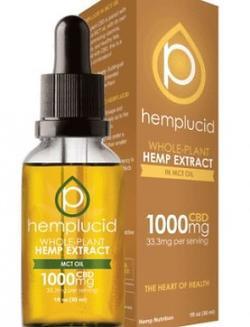 1000mg Hemp Lucid CBD Oil