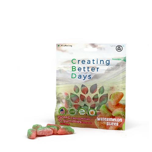 Nano Infused CBD Watermelon Slices