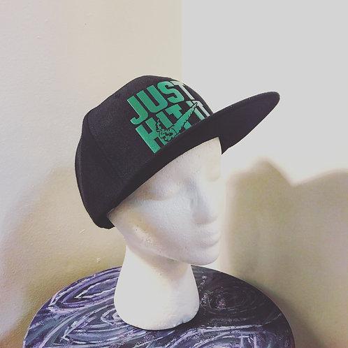 Baseball Hat [green text]