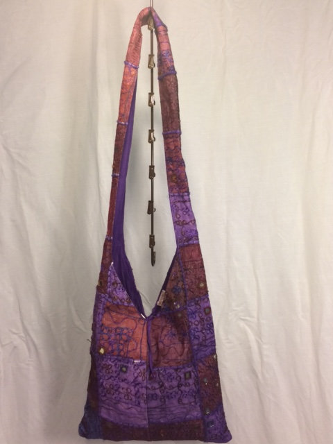 Shades of Purple Side Bag