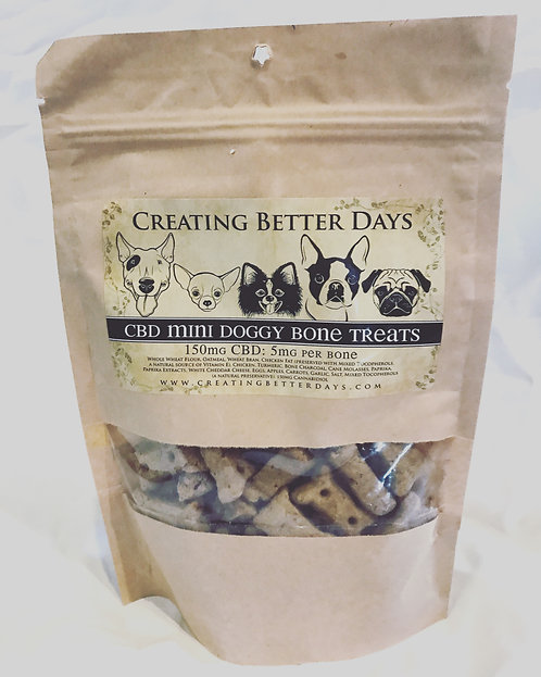 CBD Mini Dog Bones
