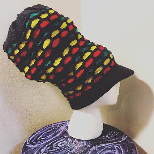 Rasta Crown [black, green, yellow, red]