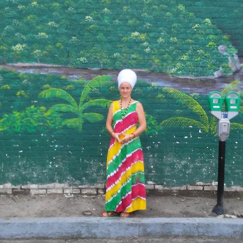Rasta Empress Dress