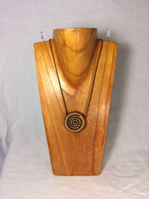 Wooden Creation Symbol Necklace