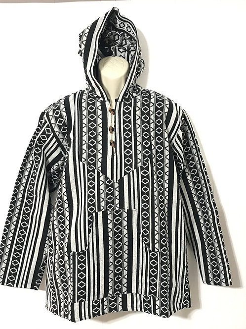 3-Button Pullover Hoodie