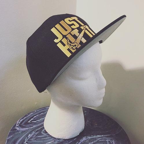 Baseball Hat [gold text]