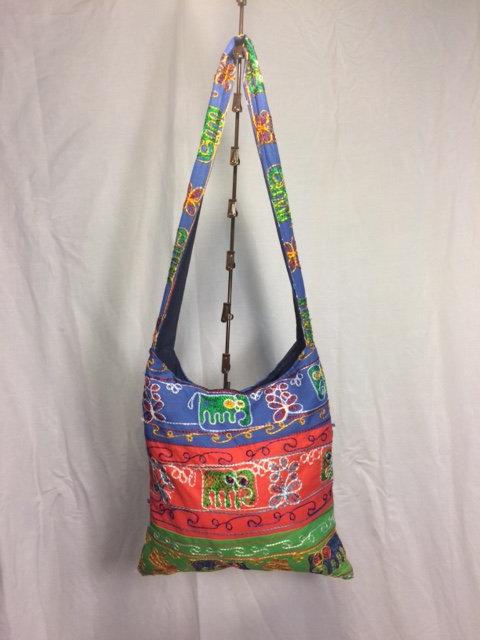 Bright Elephant Side Bag