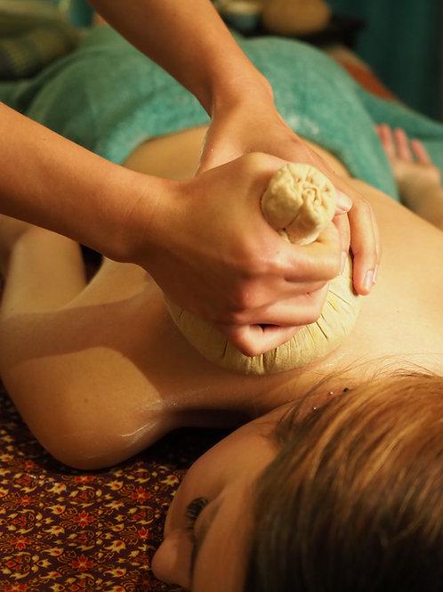 Thai Herbal Compresión 60 minutos