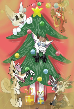 Ych de Noël avec Pti Lapin