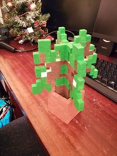 Pousse de chêne en pot Minecraft