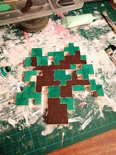 Pousse de chêne Minecraft 2D