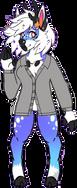 HoshiZora habillée d'une veste