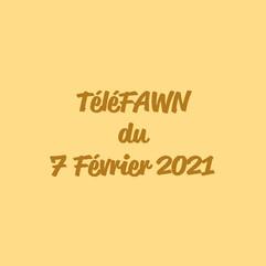 TéléFAWN du 7 Février 2021