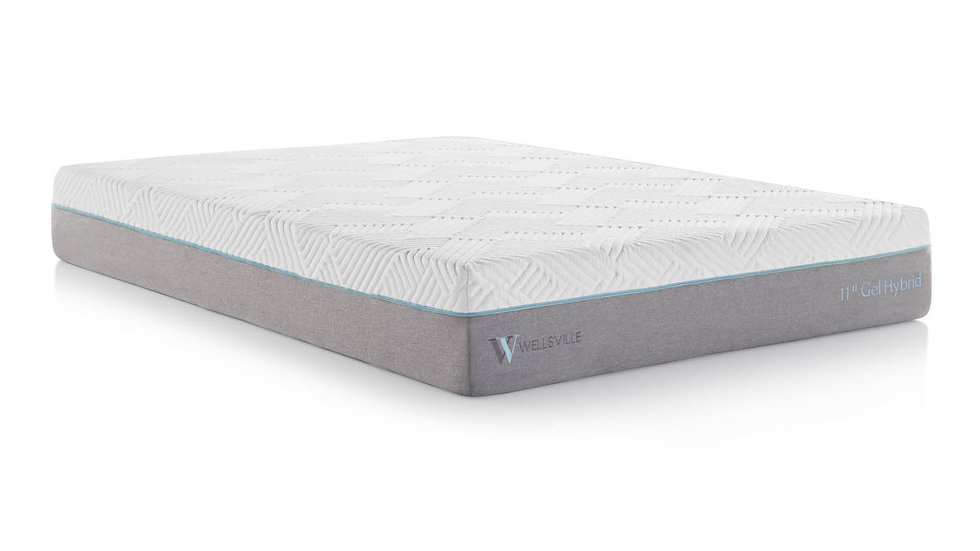 "Wellsville 11"" Gel Hybrid Mattress"