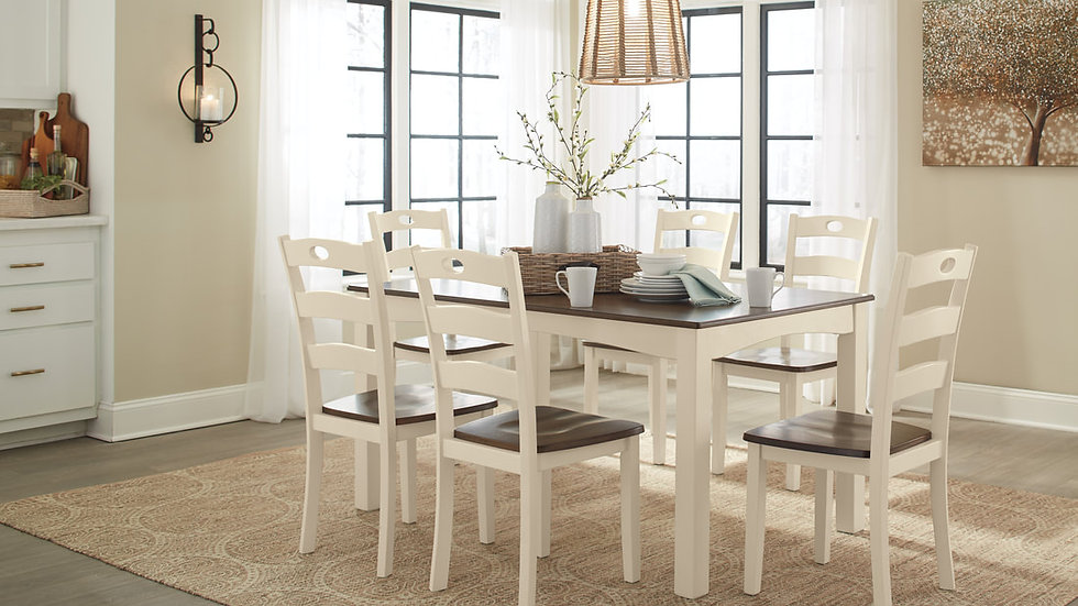 7 PC Dining Table
