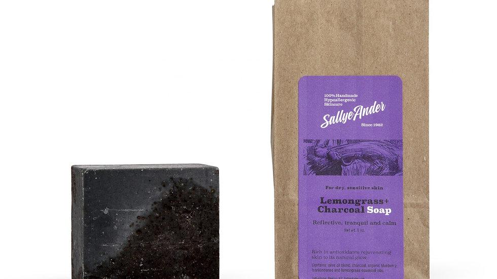 Lemongrass + Charcoal Soap