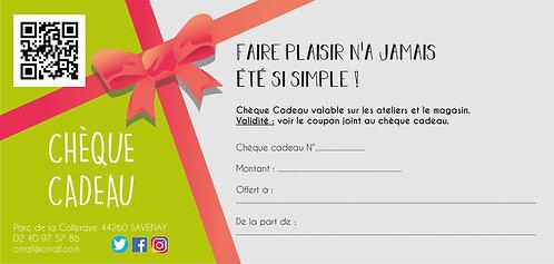 Chèque Cadeau CMQLF 40 €